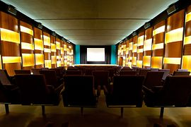 Blickle cinema, view from the back