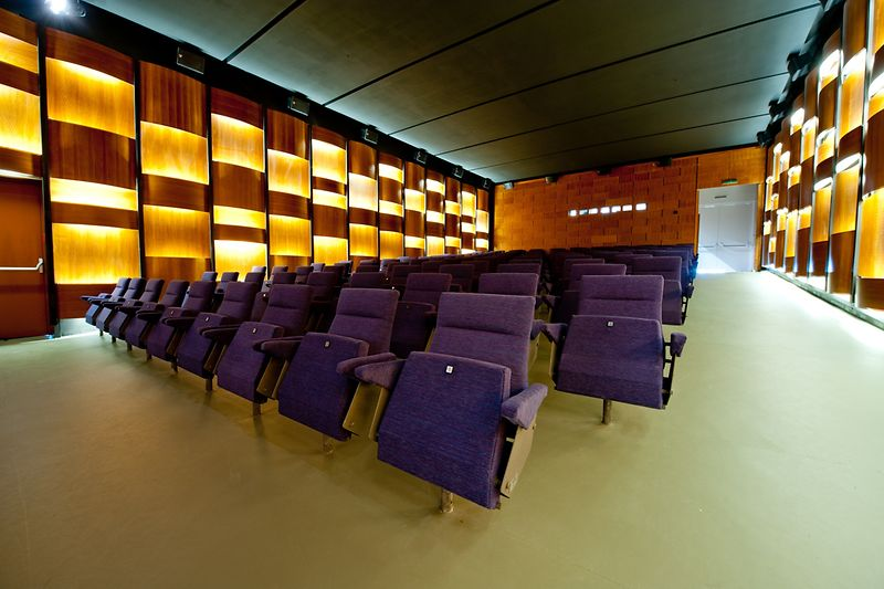 Blickle cinema, view from the front