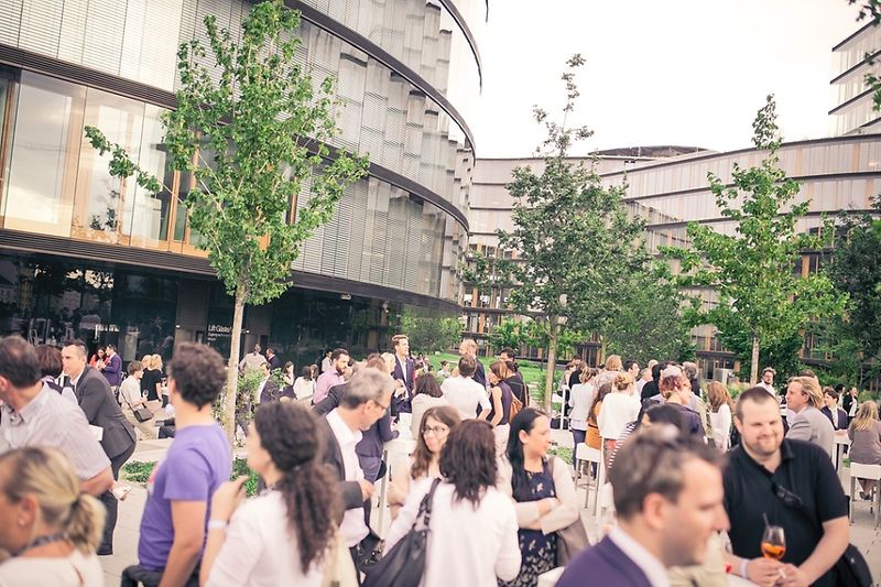 Gartendeck Afterwork-Party