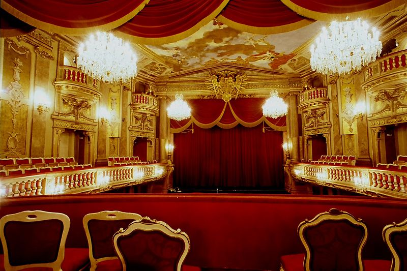 View of stage from the Emperor's Box