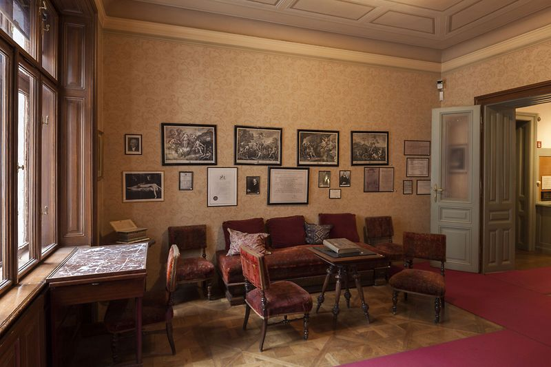 Sigmund Freud Museum Waiting room