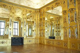 Gold Cabinet in the Lower Belvedere
