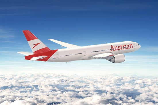Aircraft Austrian Airlines