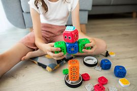 Encourage creativity, problem solving and collaboration: Robo Wunderkind programmable robots are a toy with a lot of added value.